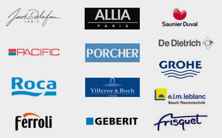Logos de marques de plomberie