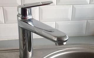 Photo d'installation de robinets